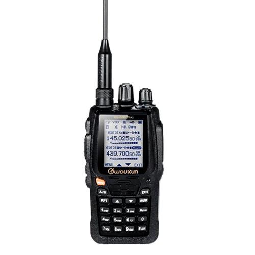 WOUXUN KG-UV8D Plus Interphone Walkie Talkie UV Dual-band Hand-hold VOX Duplex Repeater Dual Display Scramber Compander Radio Storage RX-CTC TX-CTC RX-DCS TX-  DCS Voice Prompt