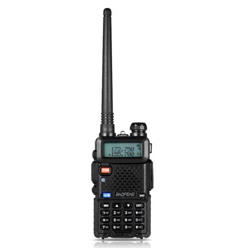 BAOFENG UV-5R Interphone Rádio FM Transceptor Walkie Talkie Two Way