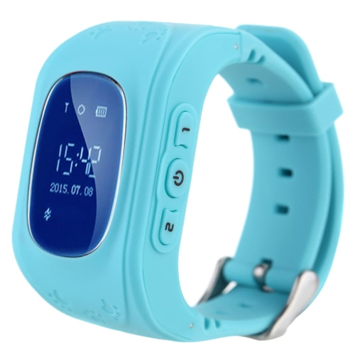 Q50 Kid Safe GPS Smart Watch Wristwatch SOS Call Location Finder Locator Tracker for Kid Child Anti Lost Monitor Baby Son