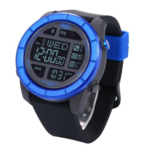 Youngs PS1501 Bluetooth 4.0 exterior inteligente relógio 100 M de resistência à água para iPhone 6 6 Plus 6S 6S Plus IOS 6.0 Android 4.3 acima Smartphone chamar aviso Sync tempo encontrar telefone SOS Pacer Bluetooth fotos