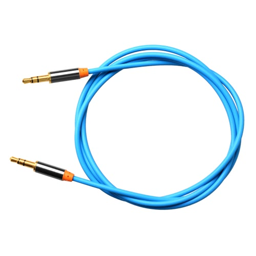 Yellowknife 1M 3.5mm Male to Male Stereo Audio Cable for iPhone iPad iPod Samsaung Android Smartphone Tablet MP3 Player all 3.5mm-enabled Devices