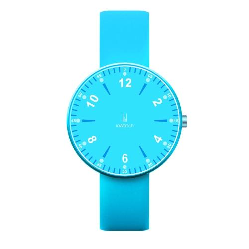 inWatch Color deporte podómetro reloj silicona banda Bluetooth 4.0 LED Smart