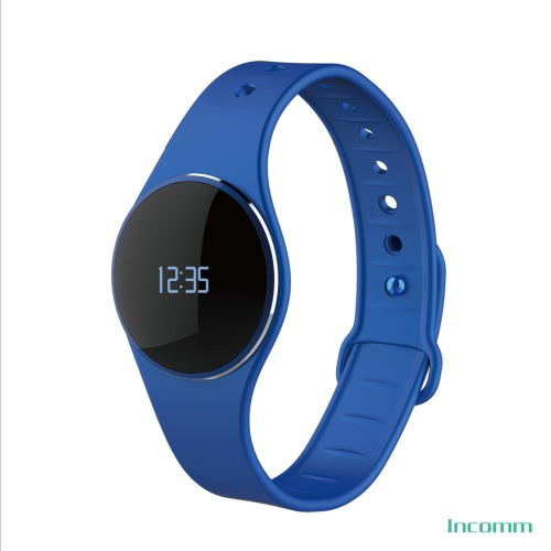 Incomm L16 Smart Wristfit Sport Bracelet Fitness Activity Tracker Pedometer Sleep Monitor Call Reminder Full Touch Smartwatch Wristband IP67 Waterproof Bluetooth 4.0 Ultra-thin for iOS Android APP Control
