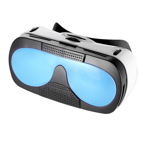 VRTOTO VR 3D occhiali auricolare funzione di realtà virtuale 3D film vetro blu lenti lunghezza focale distante vista regolare per iPhone 6 6S 6 Plus 6S Plus 6