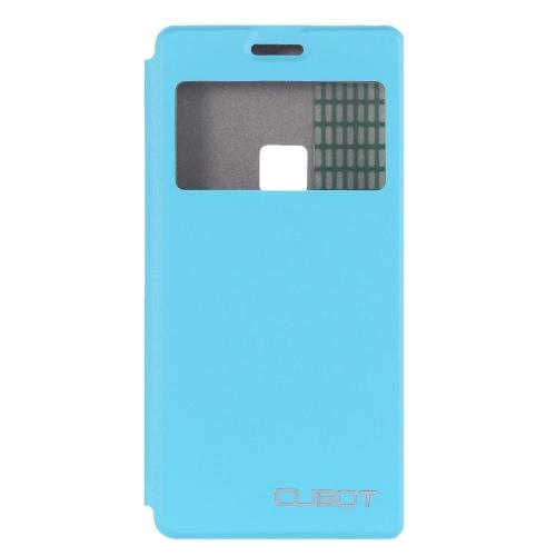 Cubot S500 の] ウィンドウ Cubot 保護携帯電話カバー軽量ファッション バンパー フリップ シェル ケース
