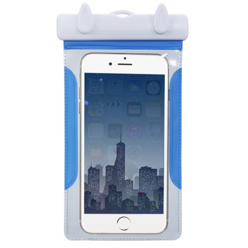 Водонепроницаемая сумка для подводного мешка для сухих чехлов с гребенкой для 4-6-дюймового сенсорного экрана для сотового телефона iPhone