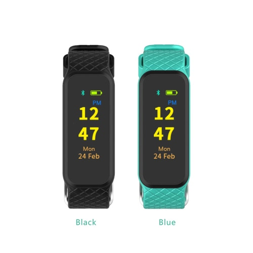 INCHOR WRISTFIT HR² Activity Tracker Smart Fitness Wristband Sports Band Watch Colorful TFT Touch Sc