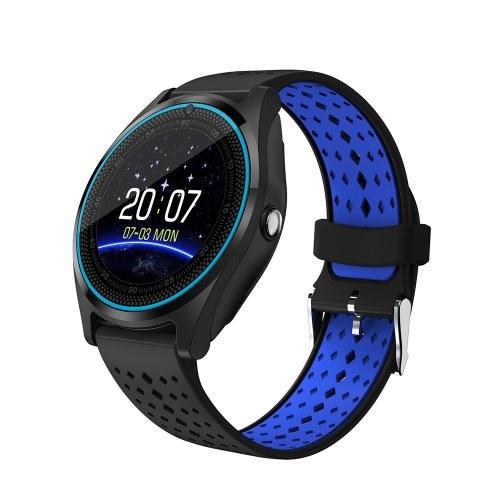 53c760bc7c9dc Reloj inteligente multifuncional V9 BT Smartwatch Pantalla táctil IPS de  1.22