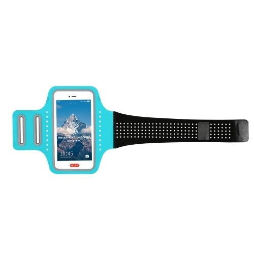 Elastic Sport Armband Full Screen Fingerprint Unlocking Phone Case Arm Band