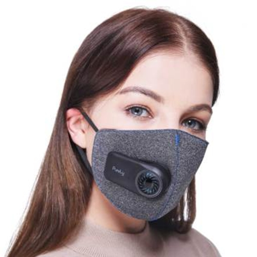 Xiaomi Purement Anti-Pollution Air Sport Masque avec PM2.5 550mAh Filtre Rechargeable Structure Tridimensionnelle Excellent Purifier