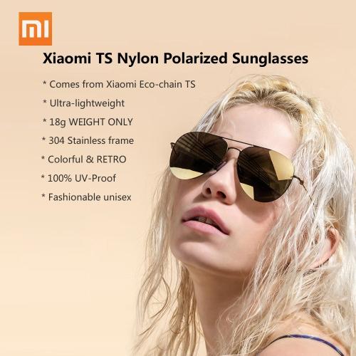 Original Xiaomi TS Nylon Polarized Sunglasses (Blue)