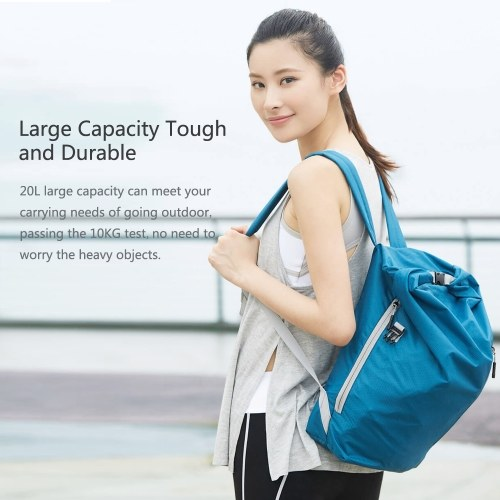 Xiaomi 90fun Sports Folding Backpack Nylon 20L Large Capacity Water Resistant