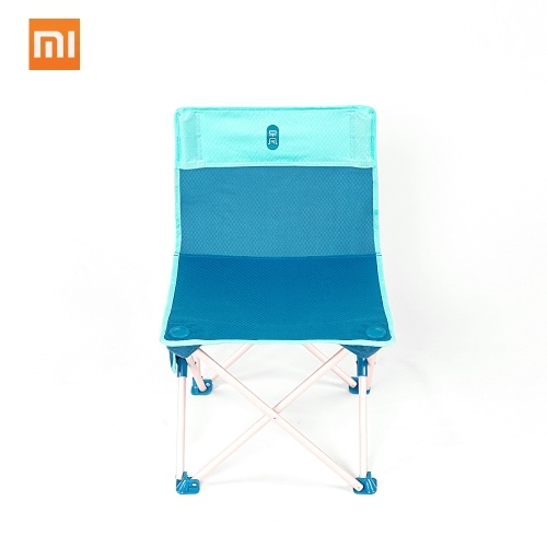 Xiaomi Zaofeng Outdoor Folding Chair Portable Camping BBQ Beach Fishing Stool Ultralight Aluminum Alloy Chair Max Load 100kg