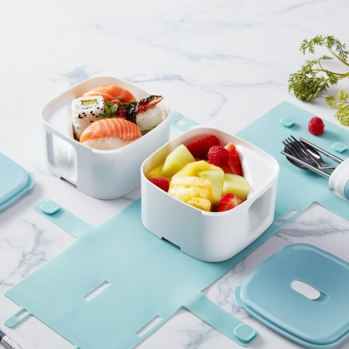 Xiaomi Mijia Kalar Lunch Box Microwave Food Box Food Storage Container Portable Outdoor Picnic Food Storage Container Eco Friendly Kitchenware