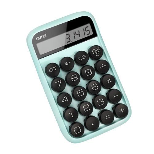 XIAOMI LOFREE Jelly Bean Calcolatrice palmare meccanica