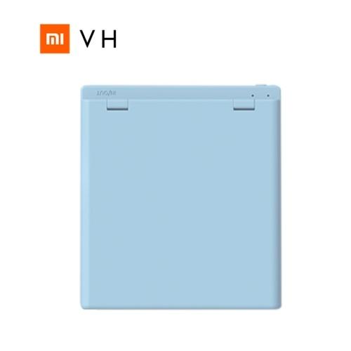 XIAOMi VH Schminkspiegel Mini Pocket Tragbarer kleiner Schminkspiegel mit zwei Außenspiegeln