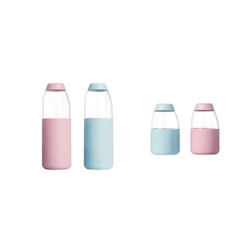 Xiaomi Youpin Джордан Джуди Фруктовая Чашка Бутылка с водой Стильный Портативный Тритан Материал Термостойкий Офис Путешествия Чай Чай Лимонный Сок Питьевая Бутылка 560 мл фото