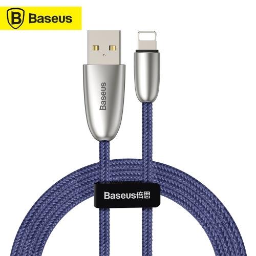 Кабель для передачи данных Xiaomi Baseus Torch USB Высококачественный нейлоновый кабель для зарядки 2.4A Быстрая зарядка Стабильный зарядный кабель для передачи данных для iPhoneX XS XS Max iPhone 8 8 Plus