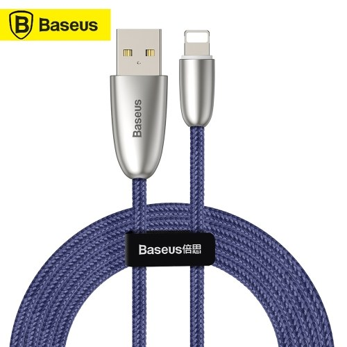 Xiaomi Baseus Torch Data Cable USB High-quality Nylon Braided Charging Cable 1.5A Fast Charge Stable Data Transmission Charging Cable For iPhoneX XS XS Max iPhone 8 8 Plus