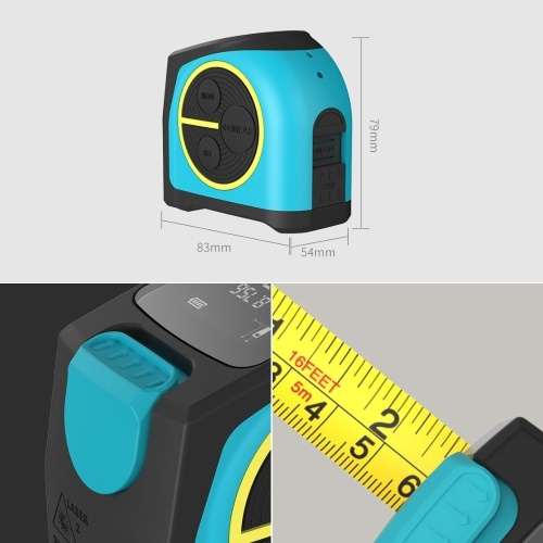 Xiaomi Youpin MiLESEEY Laser Distance Measuring Tape фото