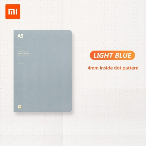Xiaomi A5 Notebook 80g Notebook Diary Note Book 64 Sheets Stationery Gift Book for Diary Office Travel 210*148mm Inner Dot Paper фото