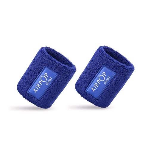 Xiaomi Youpin Airpop Cotton Wrist Band Cotton Sweat-absorbent Wristband Sport Sweat Band Hand Band Wrist Support Brace Wraps Gifts for Exercise