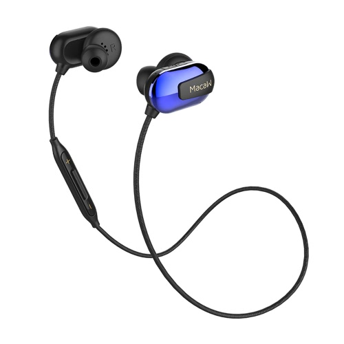 Macaw T50 Sport Fone de ouvido In-ear sem fio estéreo BT4.1 Running Fone de ouvido para auscultadores Hands-free Pair / Off / On Receber / Pendurar Música Reproduzir / Pausar Volume +/- para iPhone 7 Plus Samsung S8 +