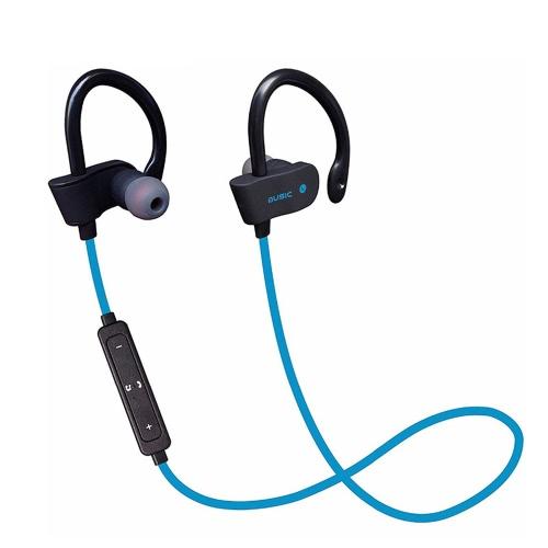 H2 Business Sport Fone de ouvido In-ear Sem fio estéreo BT4.1 Fone de ouvido Fone de ouvido sem mãos livres Parar / Desligar / Ligar Receber / Pendurar Música Reproduzir / Pausar Volume +/- para iPhone X Samsung S8 + Note8