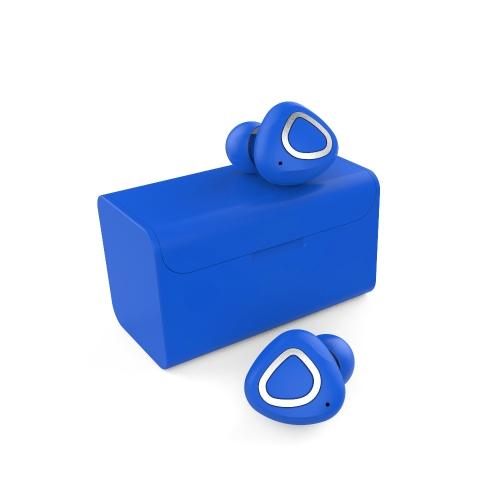 MOMAX TW-02 Ture écouteurs sans fil intra-auriculaires stéréo BT4.2 casque d'écoute en cours d'exécution Mains-libres paire / Off / sur recevoir / Hang musique jouer / pause pour iPhone X Samsung S8 + Note 8 Business Sport