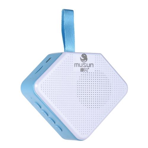 musun B011 BT Bezprzewodowy głośnik Wysokiej jakości dźwięk Przenośny głośnik Przycisk sterowania Połączenie głośnomówiące
