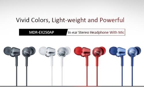 Sony MDR-EX250AP In-ear Headphones