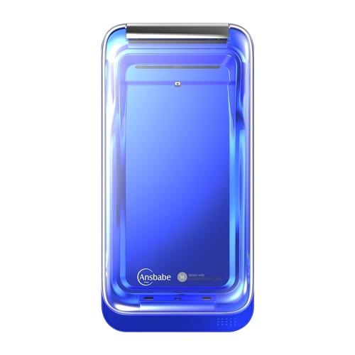 Беспроводное зарядное устройство Ansbabe Hygienic Charging Pad Устраняет раздражения при помощи ультрафиолетовой лампы UVC фото
