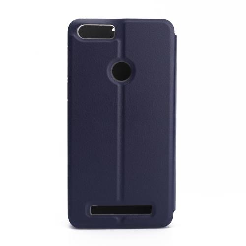 OCUBE Tampa de caixa de telefone de luxo para LEAGOO KIICAA POWER Soft PU couro Protetor de telefone Phone Phone Phone Anti-choque Full-Protection