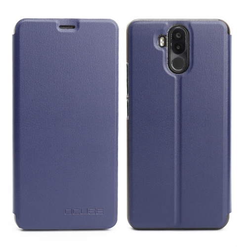 OCUBE Phone Cover für Ulefone Power 3 Weiches PU-Leder-Telefon-Kasten-schützender Shell-voller Schutz Staubdicht Shock-absorbing