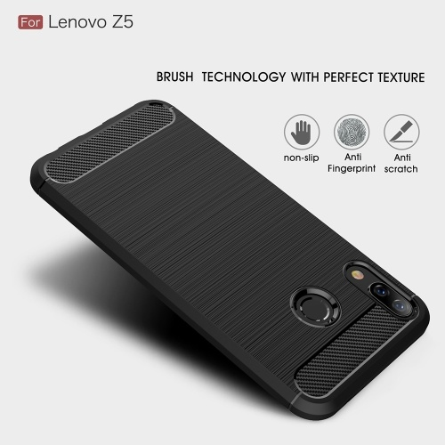 Phone Protective Case for Lenovo Z5 Cover 6.2inch Bumper Eco-friendly Stylish Portable Anti-scratch Anti-dust Durable