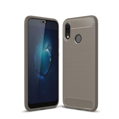 Чехол для телефона из углеродного волокна волочения проволоки ТПУ Защитная крышка телефона Простой Легкий протектор мобильного телефона для HUAWEI P20 Lite