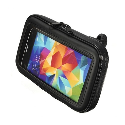Bike Phone Bag Waterproof Bicycle Front Frame Beam Handlebar Storage Bag Image