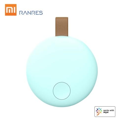 Xiaomi Ranres Rastreador Inteligente Mini Finder Wireless Bidirecional BT Tag Tracker APP Lembrete de Rastreamento Localizador de Posicionamento de Alarme Anti-perdido para Chave de Criança Pacote de Carteira Telefone