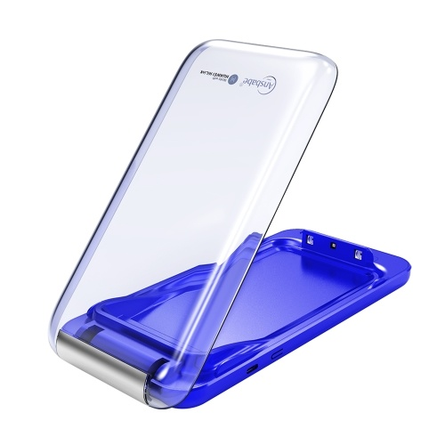 Ansbabe Phone Disinfection Wireless Charger 2 in 1 Phone Sanitizer For Face Mask Phone Watches Smart UV ANS-ZY-C-001