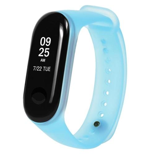 Band Strap Uhrenarmband Wearable Replaceable Translucent Colorful Uhrenarmband Ersatz für XIAOMI MI Band 3