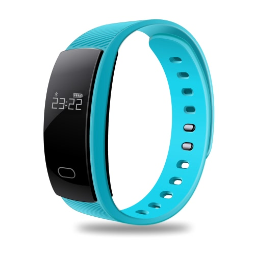 QS 80 Heart Rate Smart Band Bluetooth Sport Watch Wristband Bracelet 0.42inch HD OLED Display Call Notification Pedometer Alarm Sleep Monitor Blood Pressure Test for iPhone 6 6S 6 Plus 6S Plus 7 Plus Samsung S6 S7 edge S8 Android iOS Smartphone