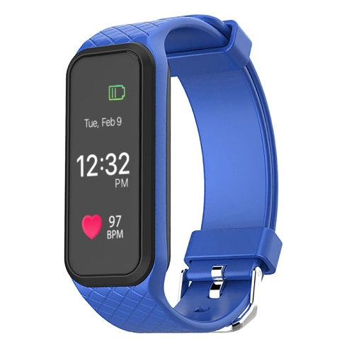 L38i Heart-rate Smart BT Sport Wristband Calls Notificação Activity Tracking Sleep Monitor para iPhone 7 Plus Samsung S8 + iOS7 Android4.3