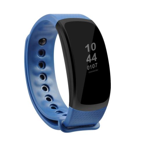 OUKITEL A18 Heart-rate Smart BT Sport Wristband Calls Notificação Atividade Rastreamento Sleep Monitor para iPhone 7 Plus Samsung S8 + para iOS7.0 Android4.3 ou superior
