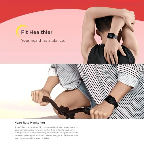 Global Version Xiaomi Huami Amazfit Bip Lite Smart Watch
