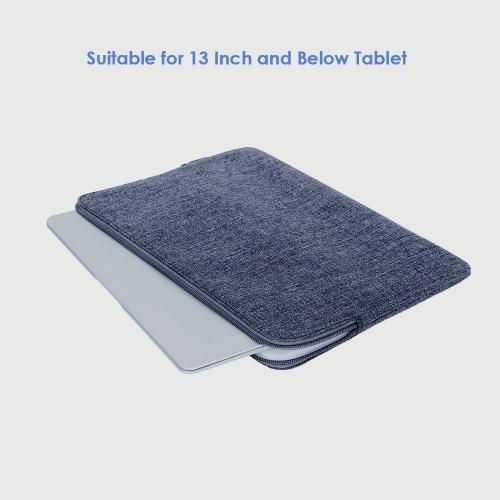 Prowell NB53184 сумка для планшета 13 дюймов чехол для планшета молния мягкая деловая сумка мода портативный портфель для планшета Samsung iPad Xiaomi фото