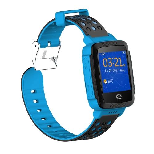 テンセントキッズQQの腕時計C002の声GPSの位置を指定遠隔監視子供のための内蔵カメラSOS歩数計スマートウォッチ