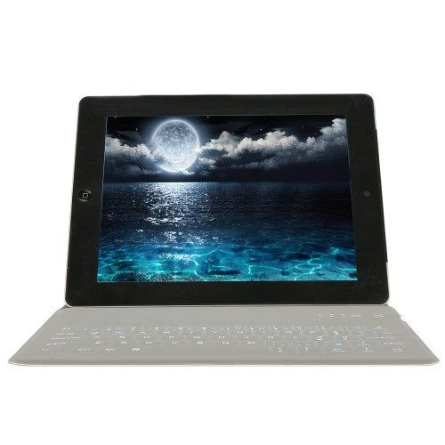 Tablet PC Wireless BT Keyboard Leather Case for 9.7 inch