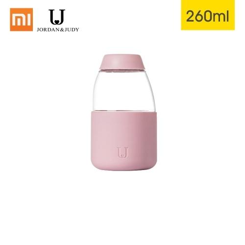 Xiaomi Youpin Jordan Judy Fruit Cup Garrafa de água Elegante Material Tritan portátil Resistente ao calor Escritório Viagem Chá Chá Suco de limão Garrafa de 260 ml