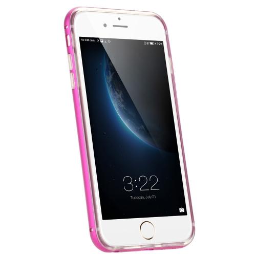 KKmoon Estrutura de Metal + TPU Caixa do Telefone Capa Protetora Concha para iPhone 6 6S Materiais Ecológicos Moderno Portátil Ultrafino Anti-arranhão Anti-pó Durável