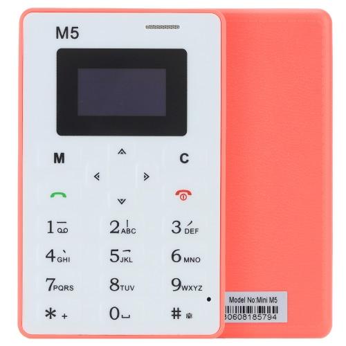 AIEK M5 Mini Telefone Inteligente Comercial de GSM OLED Tela Suporta Discagem Lista Telefônica Registro Texto Rádio Conversação Espera de Longo Tempo Moderno Durável